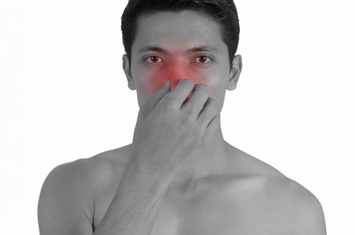 sinus pain isolated