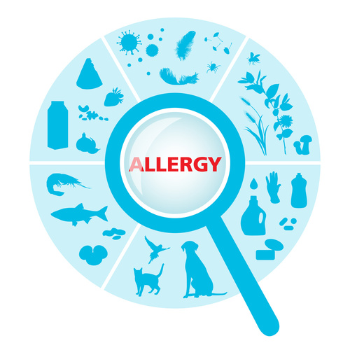 sector with allergens